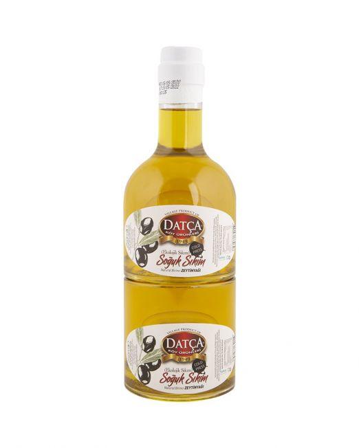 soğuk sıkım zeytinyağı 250+250 ml kule şişe